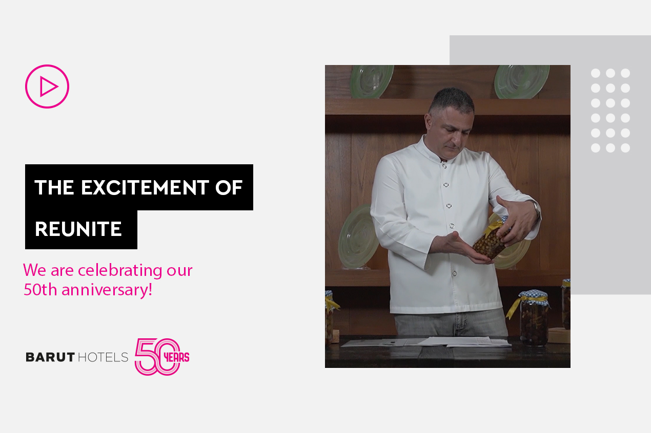 50th Anniversary Interview with Famous Gastronomy Expert Tolga Atalay